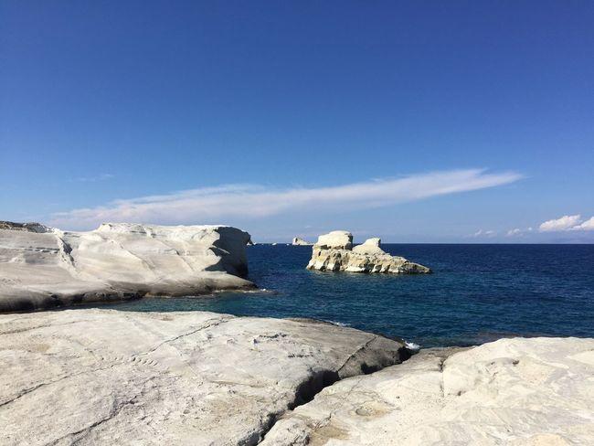 Milos Greece Island Beach Sarakiniko Moon