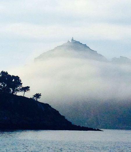 Sea And Sky Fog Galicia Islascies