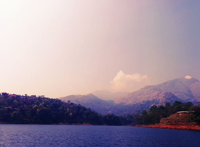 Beautiful Nature Kerala India Banasura Speedboat Earthdam