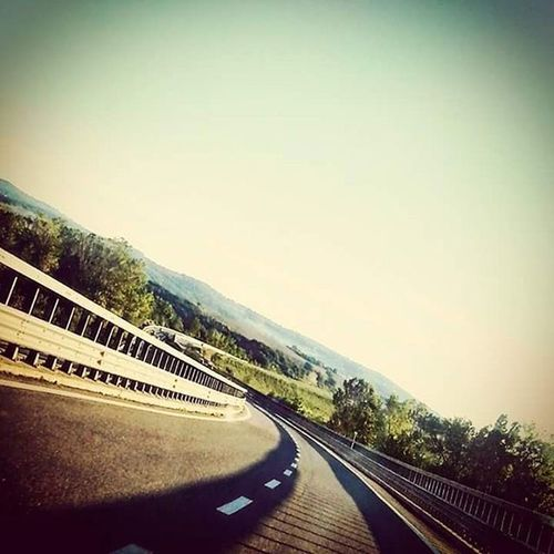 Lost Highway Sloping Road Curve Speed Unbalance Inclined Plane