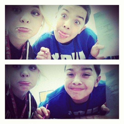 Class With The Friend :3