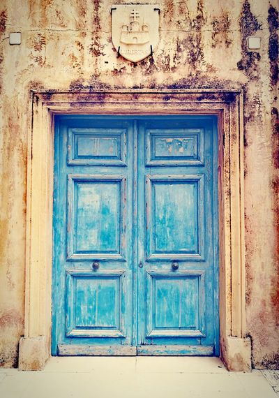 Portail Close Blue Bleu Corse Corsica Bonifacio Architecture Old EyeEmNewHere
