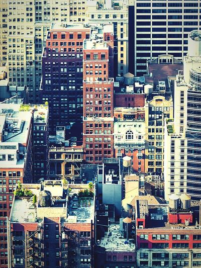From The Rooftop New York City Architecture Urban Geometry Cityscape Manhattan The Best Of New York South Geometric Shapes EyeEm Best Shots