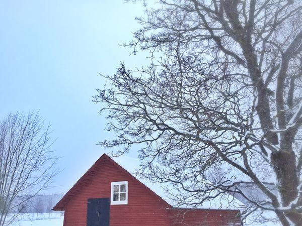February 1 ❄️❄️❄️?❤️❤️❤️ Relaxing Tadaa Community Country Life Eye Em Best Shots Vackra Dalarna The Kingdom Of Red Barns