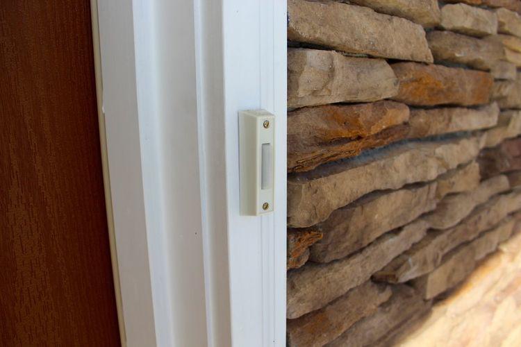 Doorbell, 2018. Door Bell Doorbells Entrance Entry Home Door Doorbell Guest Guests Notifications Ring Wood - Material