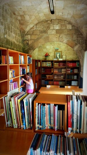 Public Library in Old Town Rhodes Greece