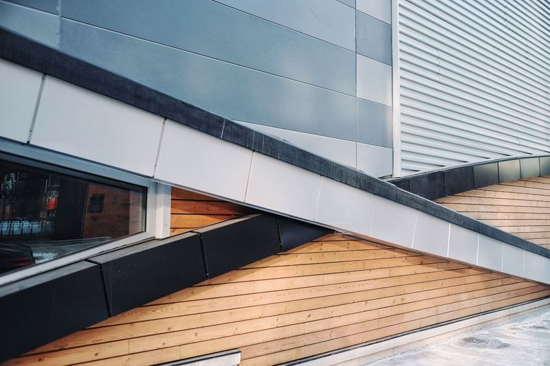 Architecture Built Structure Building Exterior Modern Steps And Staircases Window No People City Outdoors Day