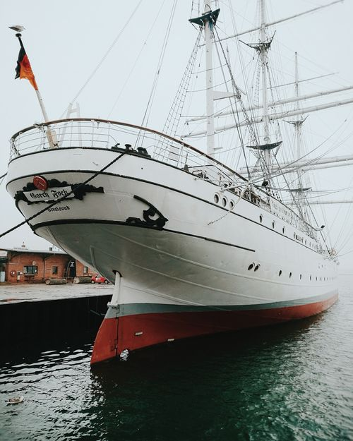 Waiting... Gorch Fock Stralsund  Stralsundmomente Hanse Hansestadt Baltic Sea Ostsee Hafen Harbour Foggy Transportation No People Water Nautical Vessel Harbor Outdoors Day Close-up Sailing Sailboat Sailing Ship Been There. Done That. Be. Ready.