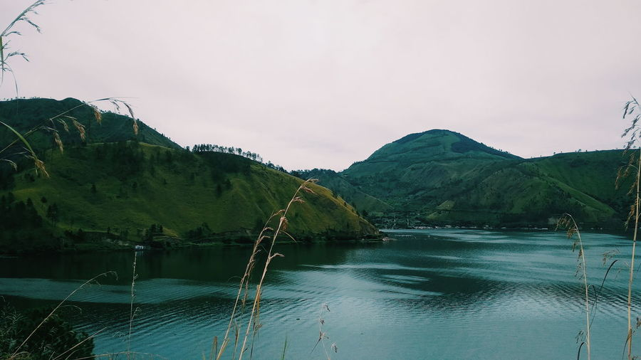 Lake Toba Indonesia Photography  Outdoors Panorama Water Tree Mountain Lake Sky Landscape Cloud - Sky Mountain Range Mountain Road Mountain Peak Physical Geography Geology