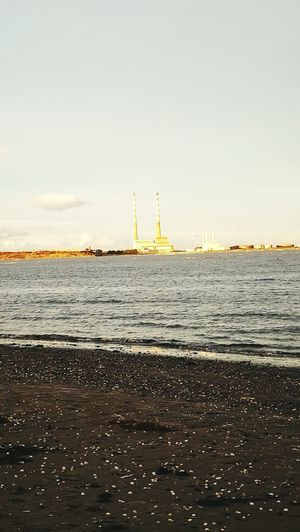 Fresh Fuel And Power Generation Water Sea No People Day Sky Outdoors Factory Industry Dublin Beach Sandymountstrand The City Light