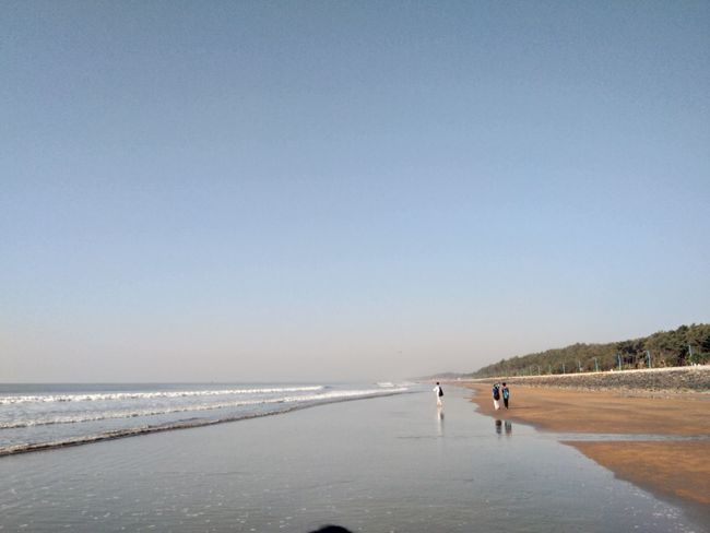 How do you tell me that you will go with my mirror all the crossings Full Length Beach Sea Water Sand Beauty In Nature Nature Scenics Sky Day Landscape