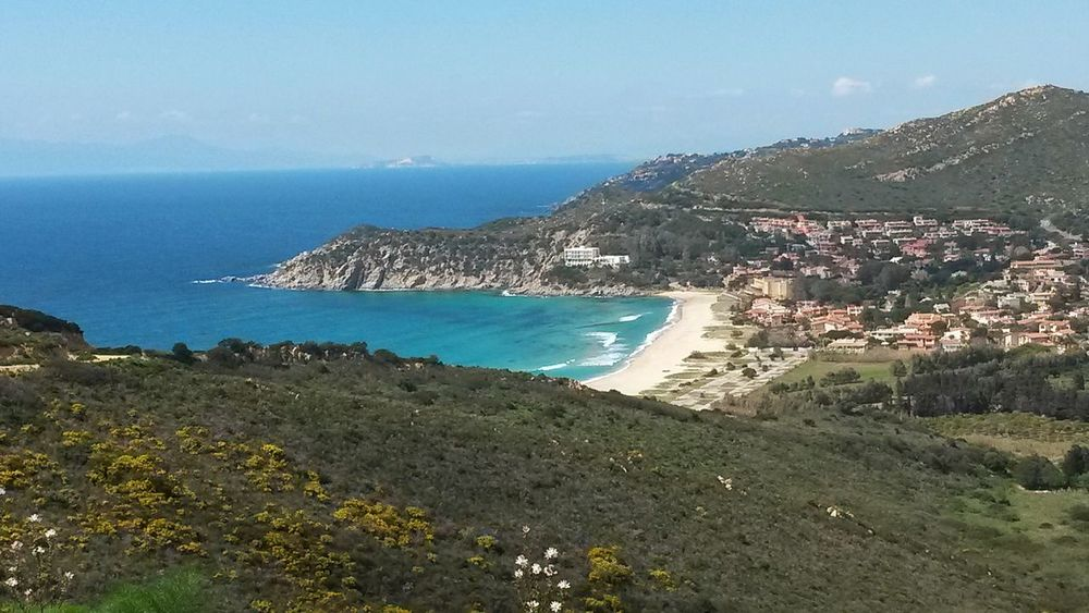 Sea Beach Outdoors Nature Vacations Holiday Horizon Over Water No People Water Summer Sand Beauty In Nature Sky Scenics Day Sardegna Sardinia Sardinia Sardegna Italy  Beautiful Beach Waves Windy Wind Blue