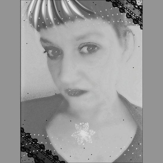 Digital Art Photoart Timelessbeauty Selfie Blackandwhite Self Portrait
