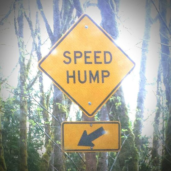 For when you don't have time for a slow one... 😉 Funny Signs Spring Time Valley Life Street Signs