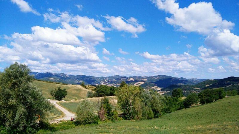 Cloud - Sky Sky Nature Landscape Outdoors Scenics Mountain Day No People Beauty In Nature Orginal Photograph My Photography. ❤ Summer My Passion ❤ Tree Italy🇮🇹 Orginal IT Vacations Ciao. ✌ Good Day :)