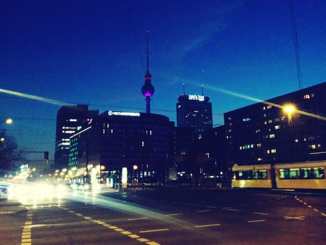 Berlin at 6 o'clock in the evening