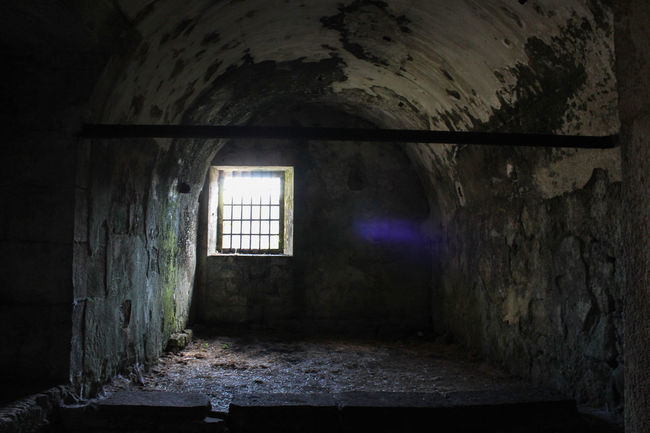 Travel Abandoned Architecture Bad Condition Built Structure Damaged Dark Prison Day Daylight Empty Indoors  No People Old Castle Old Prison Old Ruin Prison Travel Destinations Weathered Window