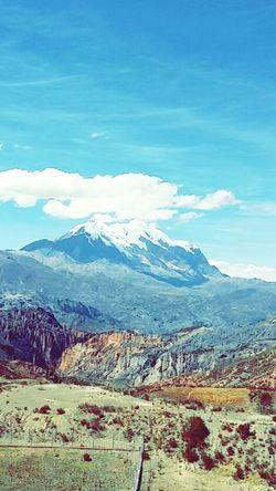 La Paz - Bolivia Illimani Mountain Landscape_photography First Eyeem Photo