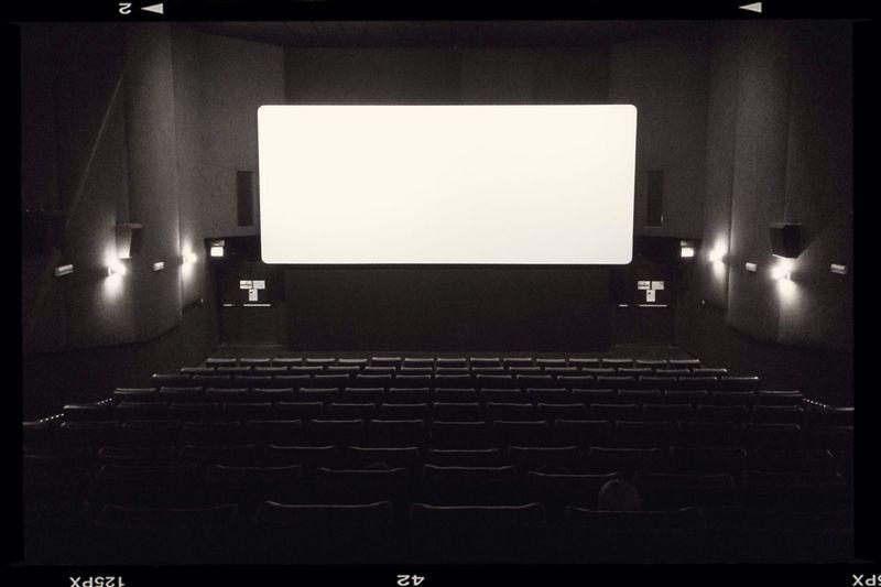 At the movies... Blackandwhite Noir Movies Theater