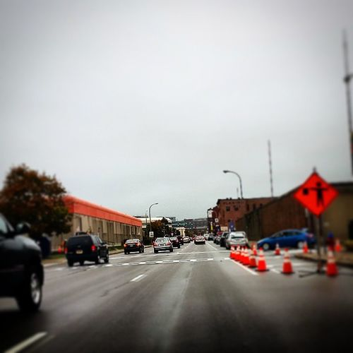 Elm. Buffalo Traffic Greyskys