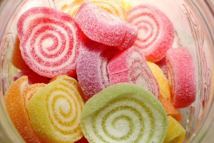Candy Candy Jelly Glass Jellycandy Close-up Sweet Food Food Food And Drink Ready-to-eat Jelly Candy Jelly Temptation Food And Drink
