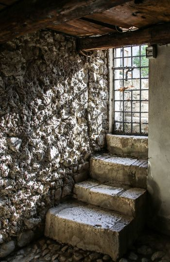 Montefusco Avellino Scalini Carcere Borbonico Architecture Built Structure Old Staircase Building Indoors  Window