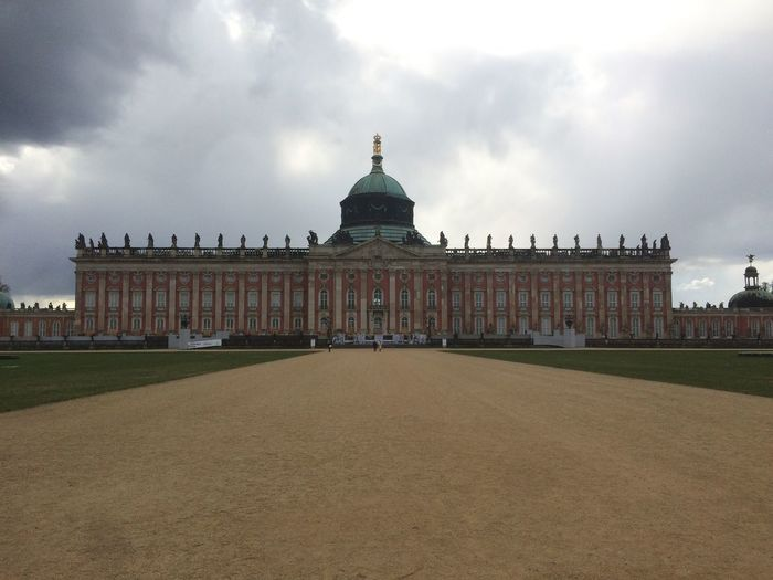 #Potsdam Architecture Building Exterior Built Structure Cloud - Sky Day Dome Façade History No People Outdoors Sky Travel Destinations