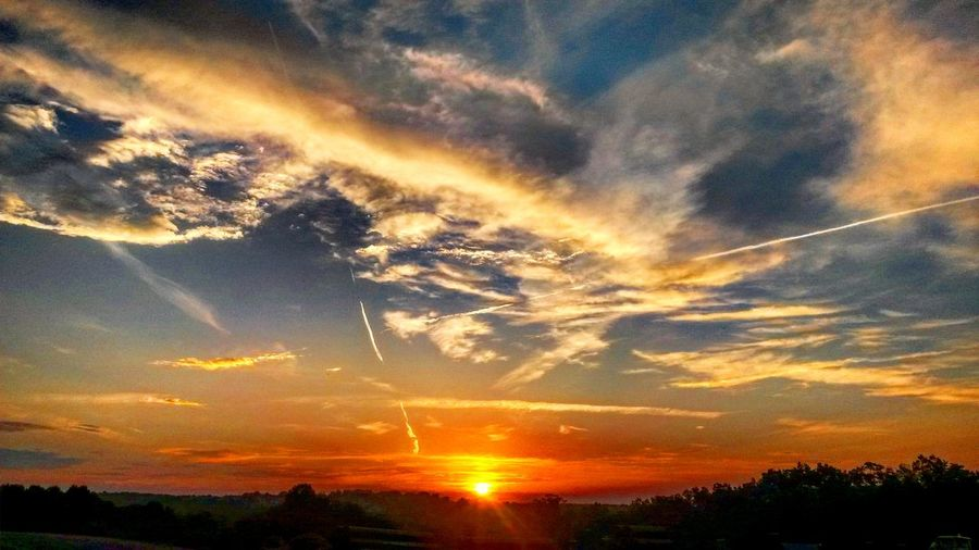 Dramatic sky. Sunset Sky Scenics Dramatic Sky Cloud - Sky Beauty In Nature Idyllic Nature Tranquil Scene Sunbeam Tranquility Silhouette Outdoors Astronomy Heaven No People Sun Galaxy Star - Space Mountains Extreme Terrain Sunlight Dramatic Sky Clouds, Nature, My View Backgrounds