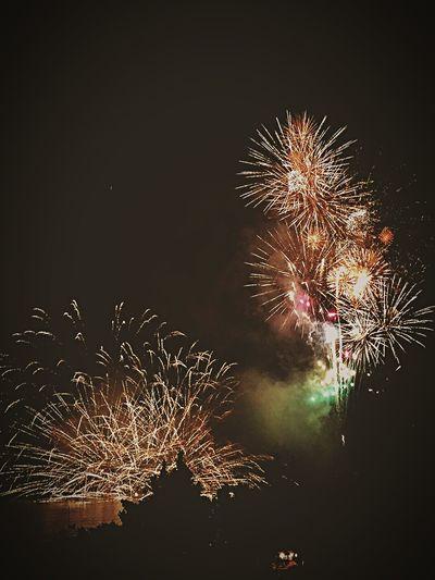 Fireworks Okinawa Japan