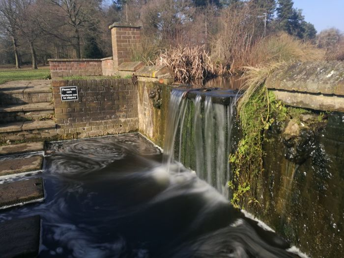 Waterfall Water Marks Hall Braintree Essex