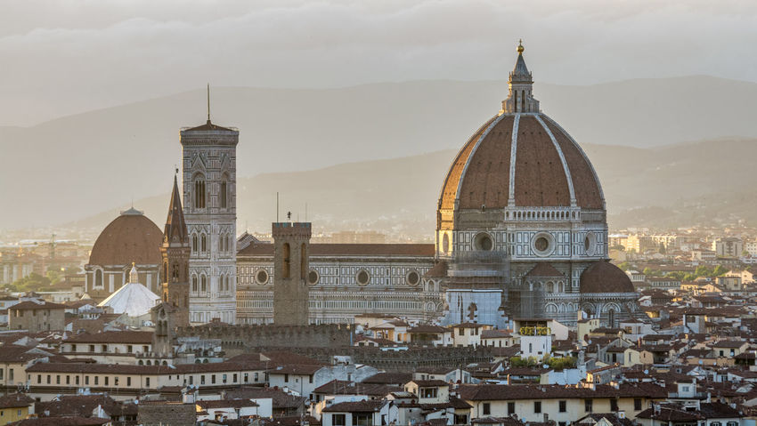 Duomo Santa Maria del Fiore Architecture Building Exterior Built Structure Day Dome Duomo Duomo Di Firenze Duomo Santa Maria Del Fiore Firenze Firenze, Italy Florence Florence Dom Florence Italy History Michelangelo Mountain No People Outdoors Place Of Worship Religion Sky Spirituality Sunset Travel Destinations Tuscany First Eyeem Photo
