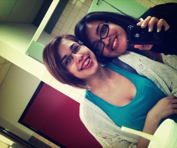 Me and the bestie:D love herr:3 after our tour and lunch:b