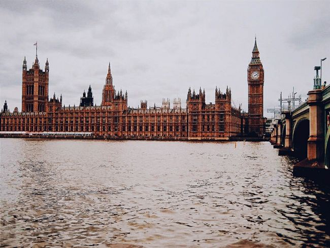 Bigben History Historical Building London Water Clouds And Sky Bridge Outdoors Taking Photos Popular Photos Picoftheday Eye4photography
