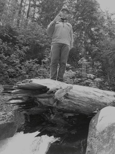 The Portraitist - 2017 EyeEm Awards TheAustin TheOneAndOnly Outdoorportrait Badasspic LivingOnTheEdge Logonawaterfall Nature One Man Only Portraits Rockon