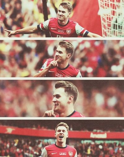 Aaron Ramsey Arsenal Lover That Isn't Me  ⚽❤
