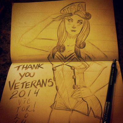 What I did for Veteran's day: ) Veteransday America Art, Drawing, Creativity Photooftheday