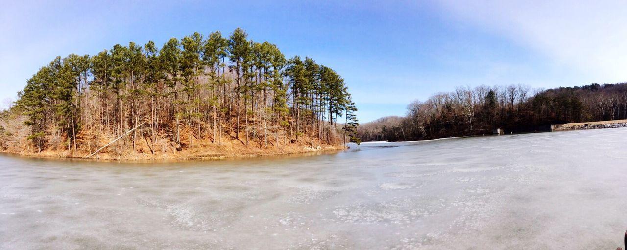 Frozen lake. Lake Frozenlake Beauty In Nature Outdoors Scenics