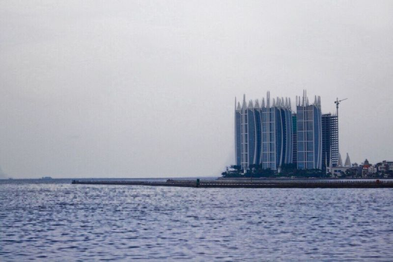 Jakarta Ancol Beachphotography Building Day