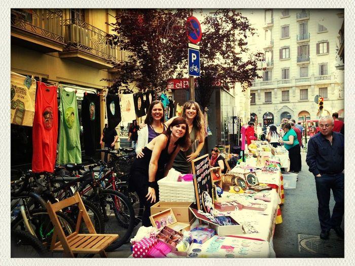 Feria St.Pere Més Baix, Preparadas Para Venderlo Todo!!!