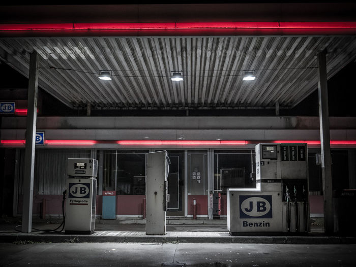 Gas Gas Station