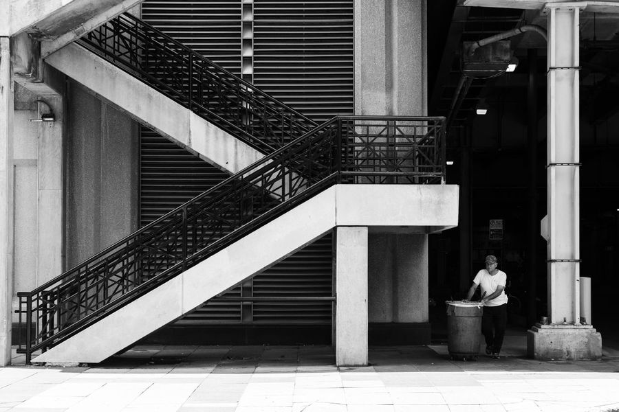 The Week On EyeEm Architecture Built Structure Steps Railing Building Exterior Steps And Staircases Real People Staircase Lifestyles Rear View Full Length Walking Stairs Outdoors Day Standing Women Men City Hand Rail
