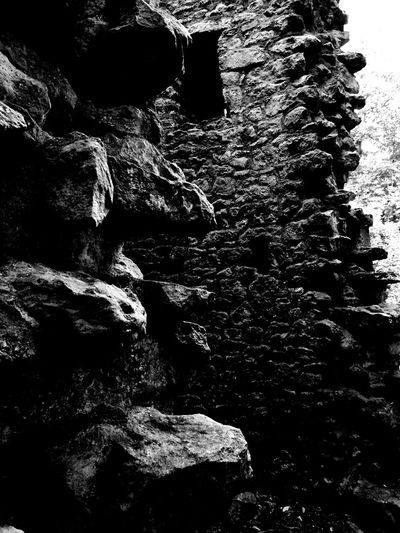 No People Close-up Nature Outdoors Rocks Stone Old Buildings Textures Capture The Moment Taking Photos Blackandwhite