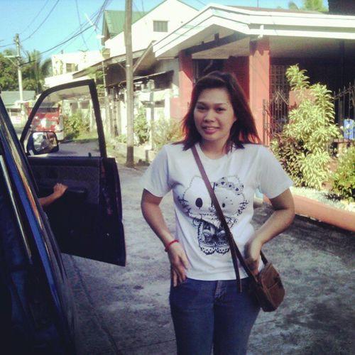Tara let's go come on! ˋωˊ kaninang morning :) Dasmariñas Cavite Redslim08 Hilogarsyshirt Apparel Err