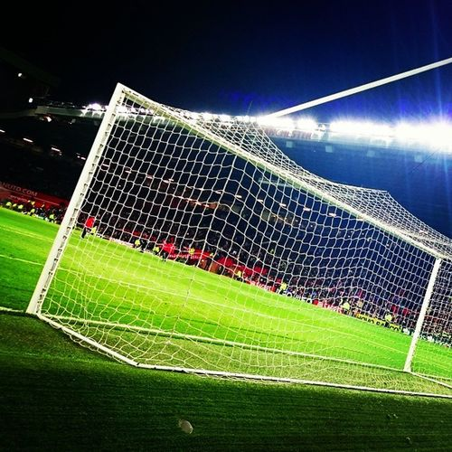 Oldtrafford at tonight's ArgentinaVsPortugal Messi Ronaldo . Photography by NurPhotography