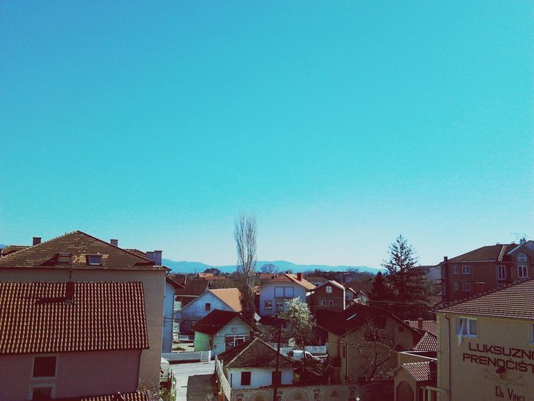 View Houses Sunny Day