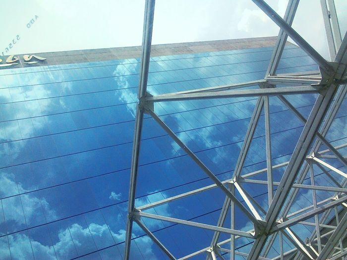 City Cielo Azul Reflection Reflejo Grande Ciudad De México Ciudad y City Hotel Hotel Espejo Hotelview Hotels Hotel Window Cielo Azul Sky Day Cit