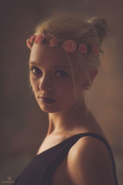 Portrait Young Women Sensitivity Available Light Beauty