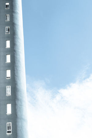 Building Exterior Blue Building Blue Building Blue Sky Blue Sky Clouds And Sky Clouds Original Photography Original Building Original Buildings Buildings Windows Window Shopping Minimalism Artistic Photo Artistic Composition Artistic Photography Urban Geometry Lineal Sequence Sequential Photography Open Windows Closed Windows Blue And White White And Blue Sky Background