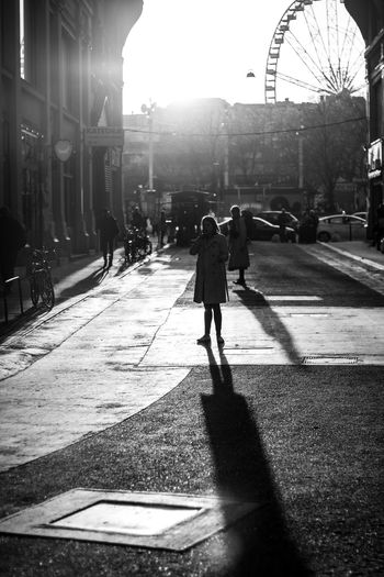 Camera - Canon 550D -Lens - 50 mm f/1.8 Blog : https://www.instagram.com/david_sarkisov_photography/ City Architecture Street Walking Building Exterior Real People Sunlight Built Structure Nature Shadow Lifestyles Rear View City Life Transportation People Incidental People Full Length Direction Men Lens Flare Outdoors My Best Photo Analogue Sound