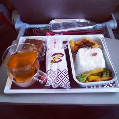 Batikair Batikjelajahnusantara makan nasi ramas